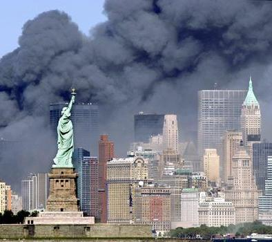 911 - World Trade Center Collapes Into Dust