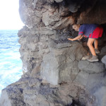 Andrew's Cave in the Side of the Arch