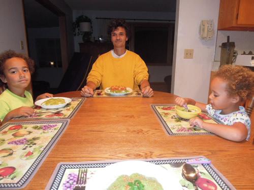 Raw & Vegetarian Thai Food Dinner on Thanksgiving 2014