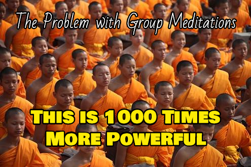 The Problem With Group Meditation