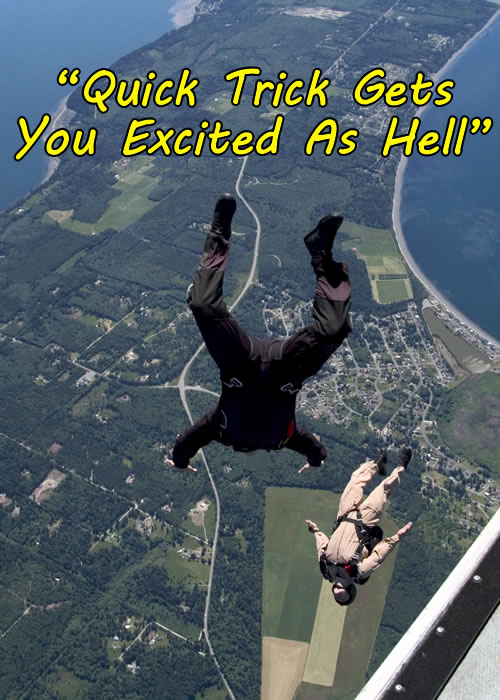 Parachuting Excitement