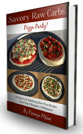 Savory Raw Carbs - Pizza Party
